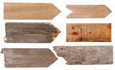 木制的迹象 — 图库照片