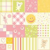 μωρό άνευ ραφής — Διανυσματικό Αρχείο