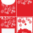 Christmas backgrounds — Stockvectorbeeld