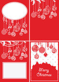Christmas backgrounds — Vecteur