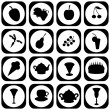 Royalty-Free Stock Vector Image: Set with different icons