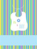It'a a boy — Stock Photo