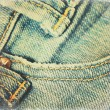 Grunge jeans paper — Stock Photo