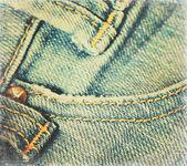Grunge jeans papier — Stockfoto