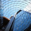 Stock Photo: cupola of shopping center