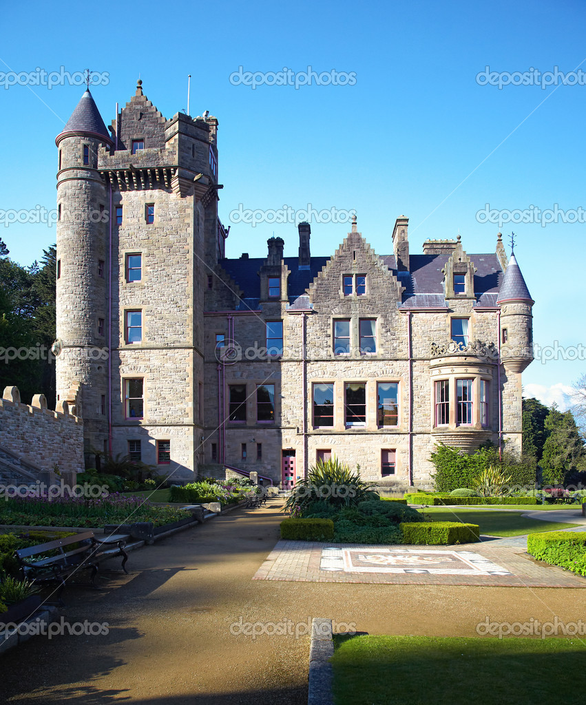 Belfast Castle  in Cavehill Country Park, Northern Ireland  Stock Photo #6746215