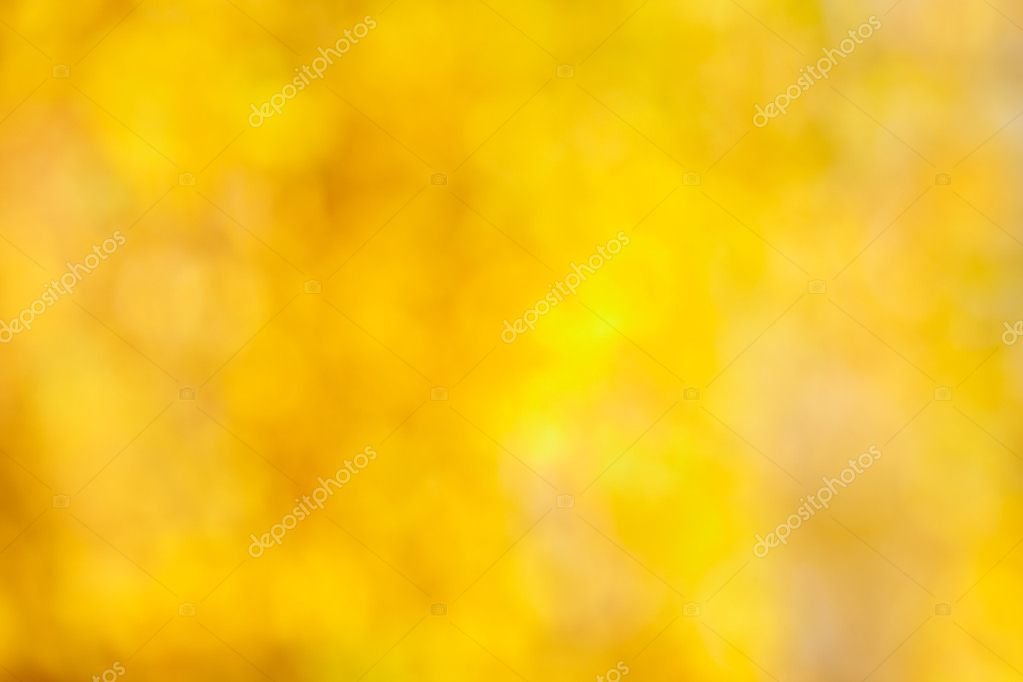 Fall bokeh background of autumn leaves in out-of-focus bokeh at apperture Useful for photomontage  Stock Photo #6886016