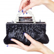 Hands with clutch — Stock Photo #7109062