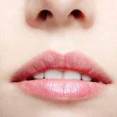 Lips makeup — Stock Photo