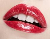Maquillage des lèvres — Photo