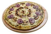 Pizza con setas — Foto de Stock