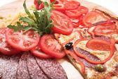 Ingredientes para la pizza — Foto de Stock