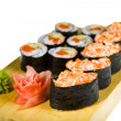 Sushi isolated — Foto de Stock