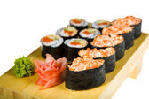 Sushi isolated — Stock Photo
