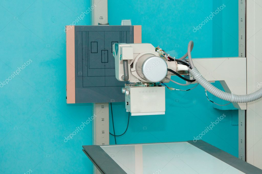 X-ray machine station without — Stock Photo #6884954