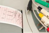 Electrocardiograph machine — Stock Photo