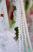 Dekoracje ślubne — Zdjęcie stockowe