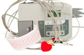 Electrocardiograph machine — Stock Photo