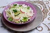 Odganic salad — Stock Photo