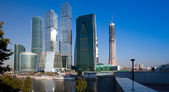Skyscrapers of Moscow City — Stok fotoğraf