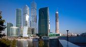 Moscow city gökdelen — Stok fotoğraf