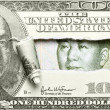 Stock Photo: Dollar vs. Yuan