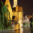 Bruges at night — Stock Photo