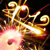 новый год 2012 — Стоковое фото