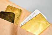 Precious metals trading. — Stock Photo