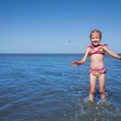 Stock Photo: Child at the sea