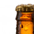 Neck of a beer bottle - Stok fotoğraf