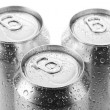 Stock Photo: Aluminum beer can