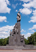 Monument to Taras Shevchenko in Kharkov, Ukraine — Stock Photo