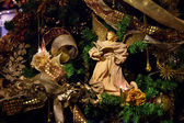 Decoration on the christmas tree — ストック写真