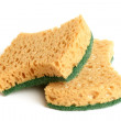 Yellow sponges — Stock Photo