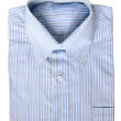 Blue pinstriped dress shirt — Stock Photo #7024052