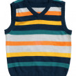 Children's wear - sleeveless pullover — Stock Photo
