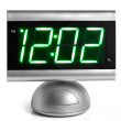 Digital electronic clock — Stock Photo