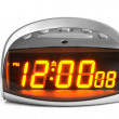 Digital electronic clock — Foto de Stock