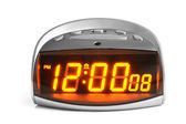 Digital electronic clock — Foto Stock