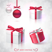Christmas gifts — Vector de stock