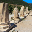 Stock Photo: Columns in Ephesus, Turkey