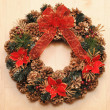 Christmas wreath — Stock Photo #6970742