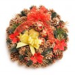 Christmas wreath — Stock Photo #6970785
