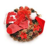 圣诞花环 — 图库照片