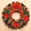 Christmas wreath — Stock Photo #7173596