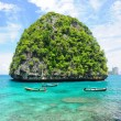 Uninhabited island — Foto Stock