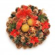 Christmas wreath — Stock Photo #7436340