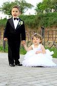 Bride and groom — Φωτογραφία Αρχείου