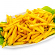 Close up of french fries — Stock Photo